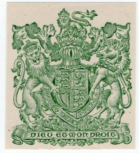 (I.B) Cinderella Collection : Eyre & Spottiswoode Stamp Essay (Royal Arms)