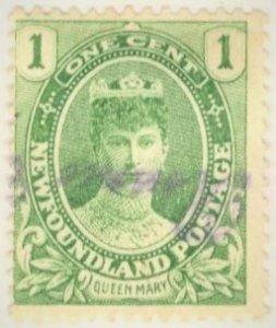 Canada - Newfoundland #104 - USED  - 1911 - Item NEWF091DTS18