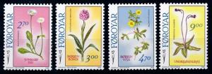 [67609] Faroe Islands 1988 Flora Flowers Blumen  MNH