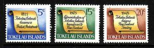 Tokelau-Sc#16-19 ex #17-Unused NH -Tokelau History-1969-