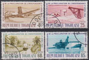 Togo #479-82 F-VF Used (B183)
