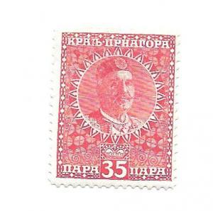Montenegro 1913 - Scott #106