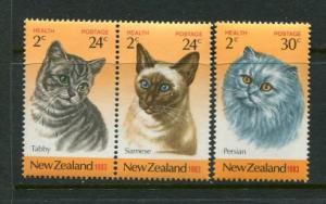 New Zealand #B115-7 MNH
