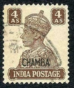 Chamba SG116 4a brown fine used Cat 18 pounds