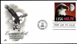 2122 First Day Cover... SCV $50.00