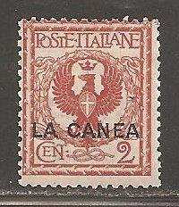 Italy -  Offices in Crete  SC  4 Mint Never hinged