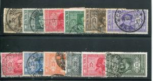 Italy #268-79 Used VF Cat $640   -  LSP