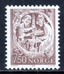 Norway - Scott #669 - MNH - SCV $4.00