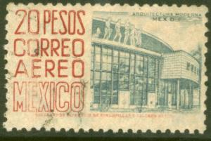 MEXICO C198a, $20P 1950 Definitive wmk 279 TII Used (949)