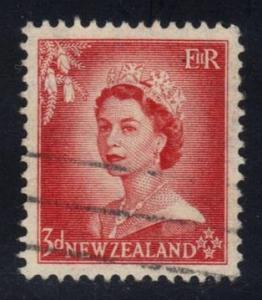 New Zealand #292 Queen Elizabeth II, used (0.25)