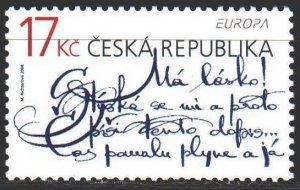 Czech Republic. 2008. 559. Alphabet, Europe. MNH.