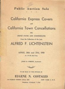 Costales: Sale #   -  California Express Covers and Calif...