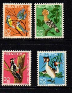 Switzerland Sc B394-97 1970 Pro Juvente stamp set mint NH