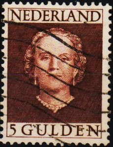 Netherlands. 1949 5g S.G.700a Fine Used