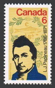 Canada 539 block/4,MNH.Michel 479. Louis Joseph Papineau,1971.