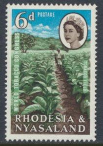 Rhodesia & Nyasaland SG 44 Sc# 185  MLH see details Tobacco Congress