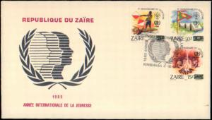 Zaire, Worldwide First Day Cover