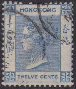 Hong Kong 1902 SC 46 Used Rare Used