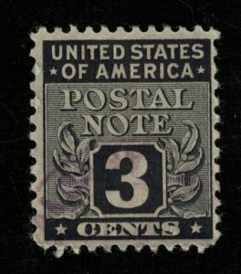 1945 USA Postal Note Stamps 3c (TS-373)