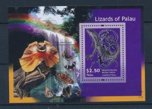[35351] Palau 2012 Reptiles Lizards Butterflies MNH Sheet