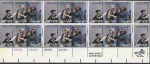 USA # 1631a Bicentennial  - Plate Block of 20    (1) Mint NH