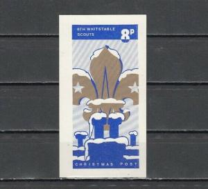 Great Britain, 6th Whitstable Scout Post label.