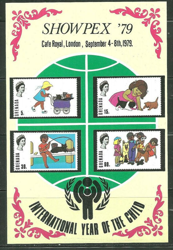 Grenada MNH S/S International Year Of The Child 1979