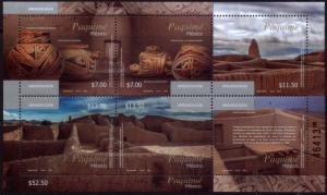 MEXICO 2898, Archeology - Paquime site. Souvenir Sheet. MINT, NH. F-VF.