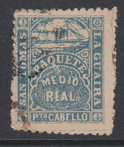 VENEZUELA  La Guiara ship local post - an old forgery  of this classic......D297