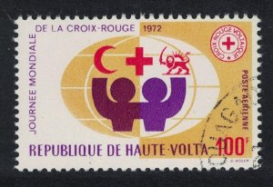 Upper Volta World Red Cross Day 100f 1972 Canc SG#369