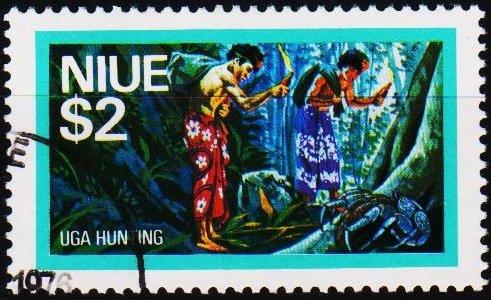 Niue. 1976 $2 S.G.207 Fine Used