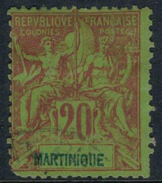 Martinique #42  CV $10.00