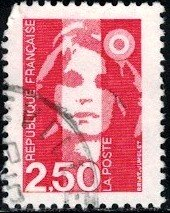 Marianne, France stamp SC#2188 used