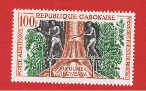 Gabon #C2  MVFLH  OG    Air Post   Free S/H