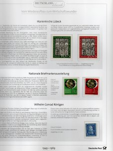 Germany Bund complete collection 1949-1969, **, Very good condition