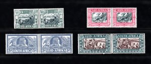 SOUTH AFRICA SC# B5-B8 PAIR MH - SALE TO A USA ADDRESS ONLY