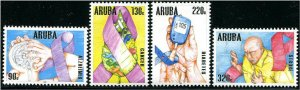 HERRICKSTAMP NEW ISSUES ARUBA Health Awareness