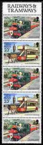 Isle of Man 1988-92 Manx Railways & Tramways booklet ...