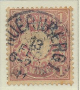 Bavaria (German State) Stamp Scott #73, Used - Free U.S. Shipping, Free World...
