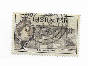 Gibraltar #135 Used CAT VALUE $1.25