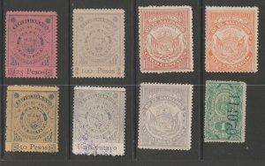 El Salvador Revenue Fiscal Stamp 11-28-20-5e as seen