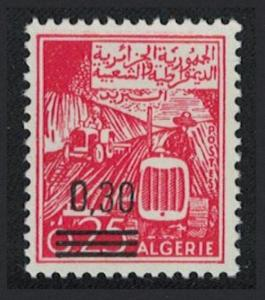 Algeria No 428 surch overprint 030 over 025 SG#504