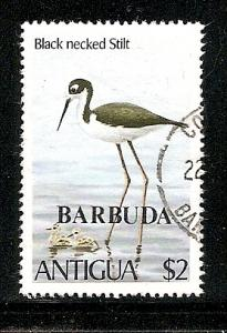 Barbuda  1980 bird overprint stamp used scott # 467
