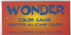 UNITED STATES - MEGHRIG WONDER COLOR GAUGE IDENTIFIES ALL US STAMPS