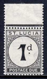 St. Lucia - Scott #J3 - MNH - See description - SCV $15