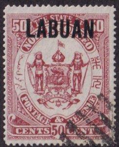 Labuan #64 Used