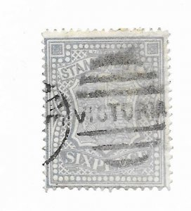 Victoria PR33b Perf 12 1/2 Not priced Used - Stamp