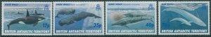 British Antarctic Territory 1996 SG265-268 Whales set MNH