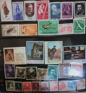 31 Romania for less than 5c a stamp.