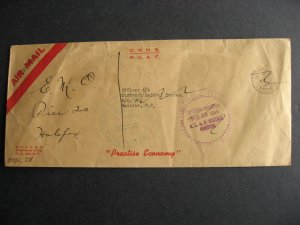 Canada 1946 RCAF OHMS cover, check it out!